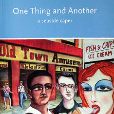 Book cover illustration for Mel Wright's 'One Thing and Another'